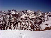 Crestones from Horn Peak