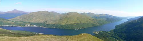 Loch Long Panorama