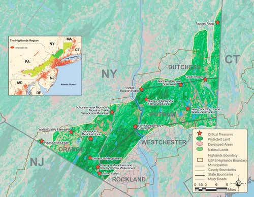 NY Highlands Map