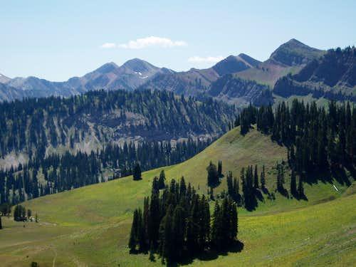 Salt River crest peaks