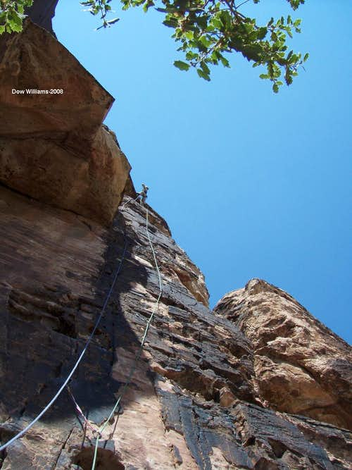 Y2K, 5.10a, 4 Pitches