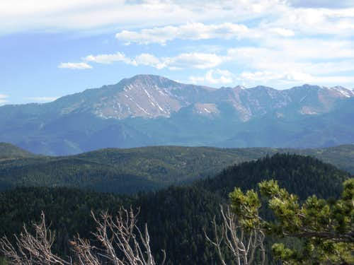 Pikes Peak from UN 9400