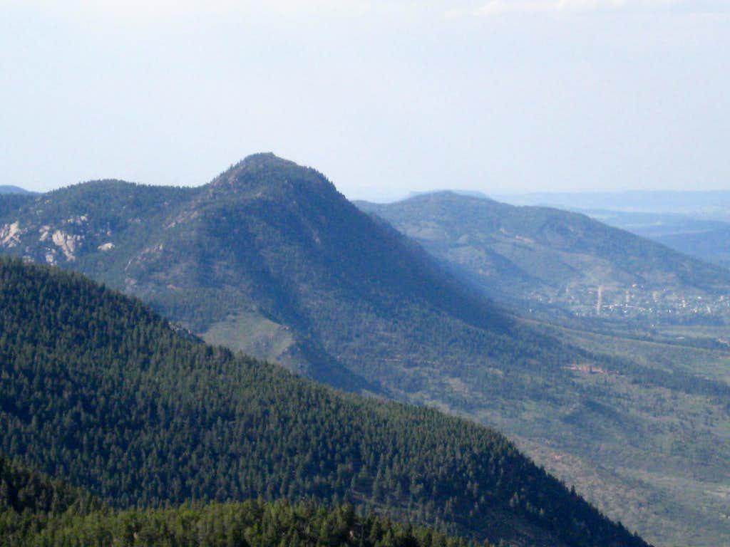 Mt. Herman from Eagle Peak
