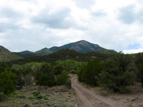 Heading for Indian Peak