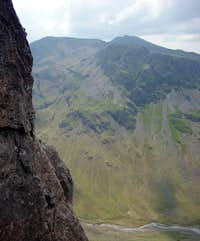 Scafell from the Napes Great Gable