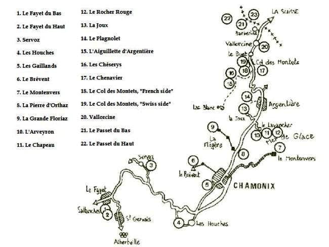 Chamonix Area Crags
