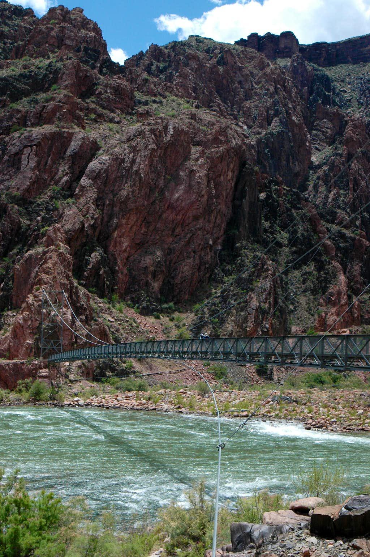 Foot bridge over Colorado River