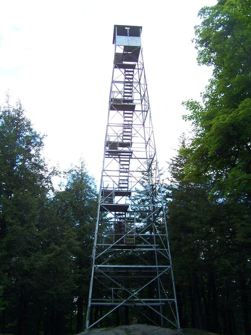 Spruce Mountain Fire Tower