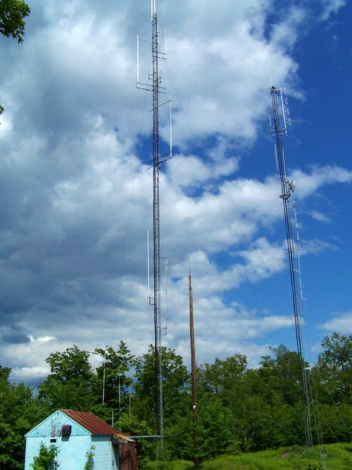 Spruce Mountain Summit Towers
