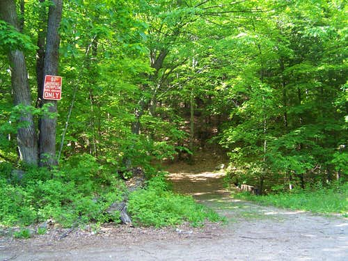 Spruce Mountain Trailhead