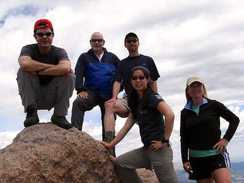 Return to Longs Peak with friends
