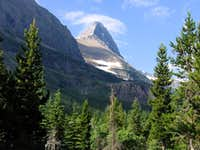 Mount Grinnell from Swiftcurrent Valley