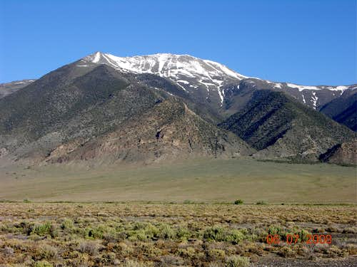 From Nevada Highway 376