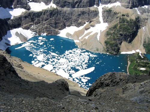 Can only be Iceberg Lake...