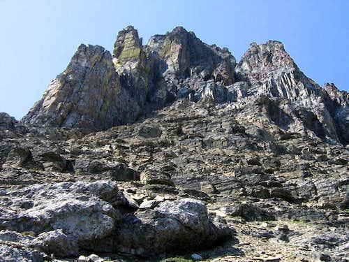 Wilbur Summit Cliffs...