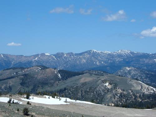 Mount Rose and the Carson Range
