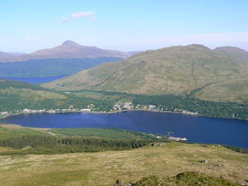 View over Arrochar