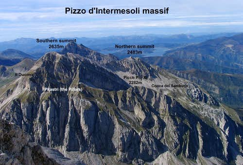 Pizzo d Intermesoli from East
