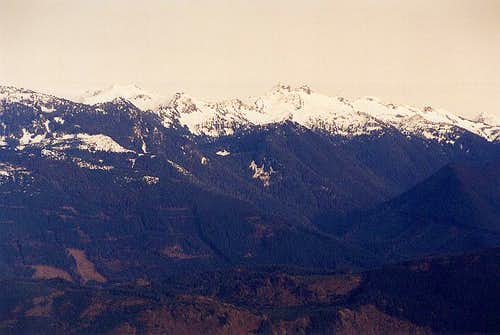 Mt. Chaval as seen from North...