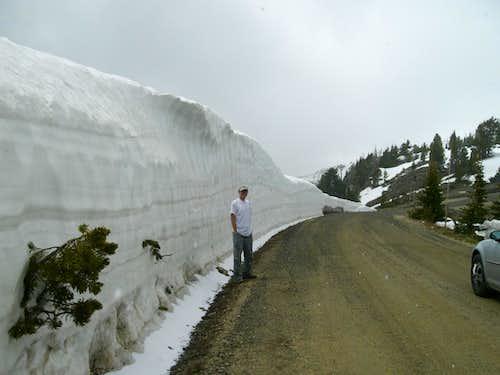 Snowbank on Snowbank