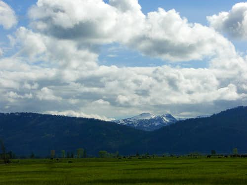 Council Mountain from Donnely, ID