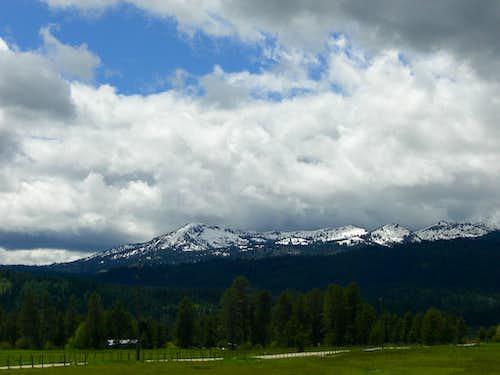 Tripod Peak from Long Valley