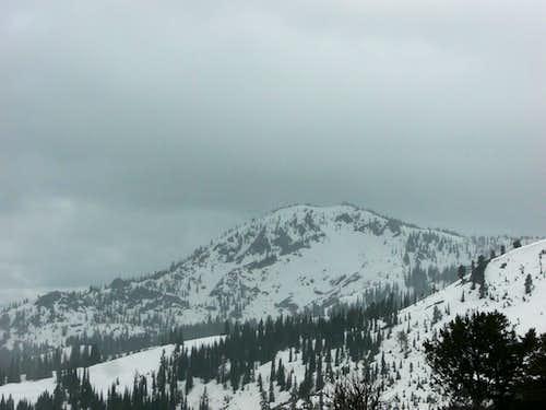 June Snow on Tripod Peak