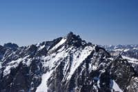 Thunderbolt as seen from Mt. Agassiz 06-07-08