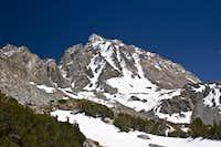 Mt Agassiz from Bishop Lake