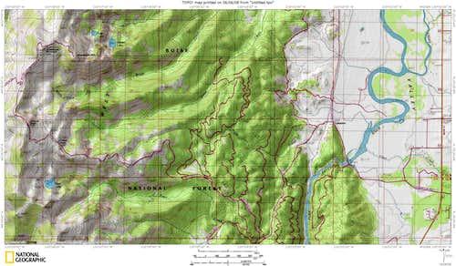 Snowbank Map