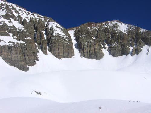 Couloir on East Side of Castle
