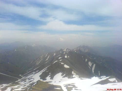 Damavand from kholeno peak