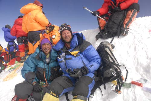Everest Summit Photo, May 22, 2008