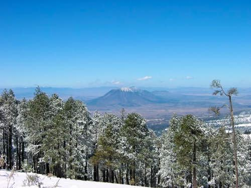 Las Derrumbadas mountains...