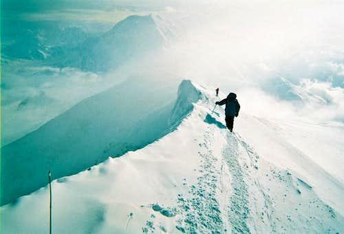 Denali summit ridge