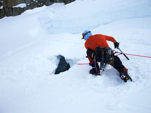 Crevasse Fall!
