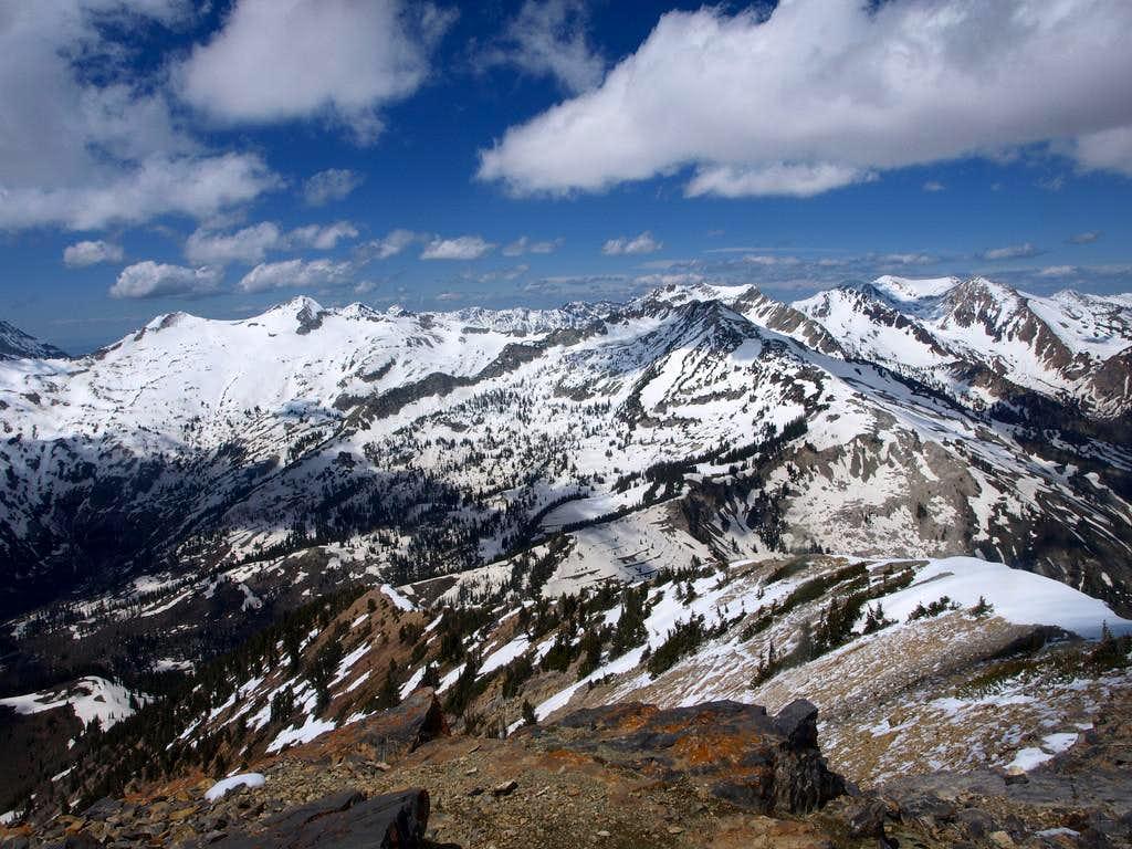 Alpine Ridge from Box Elder Peak