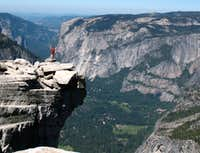 Obligatory Half Dome summit pic, 6/08