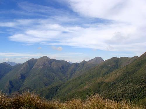 Mountains of Serra Fina