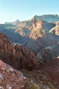 The inner gorge in late...