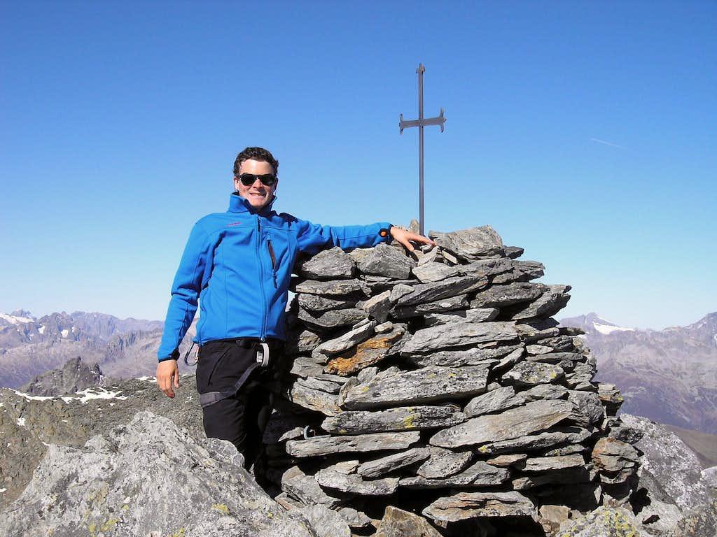 Summit of  Piz Gaglianera 3121m