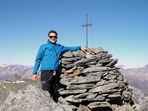 Summit of  Piz Gaglianera 3121m