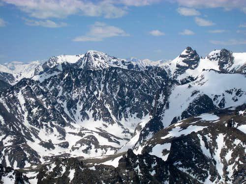 Indian Peaks May 30, 2008