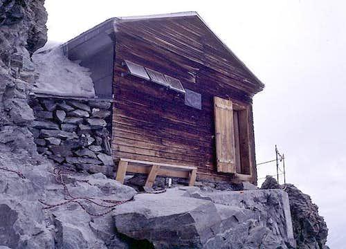 Solvay Hut (4,003 m), Matterhorn, Hörnligrat