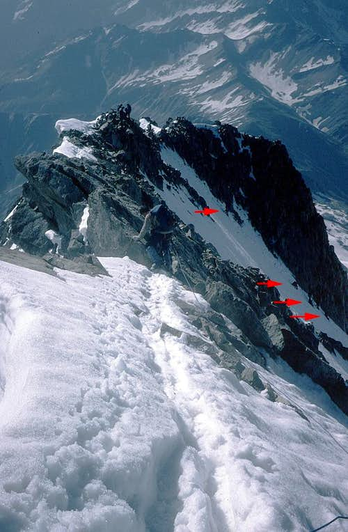 Mont Dolent - the summit...