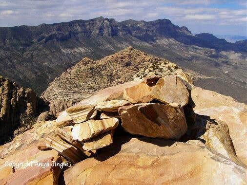 The summit of North Peak