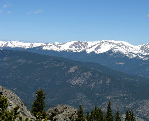 Mt. Flora from Squaw Mtn