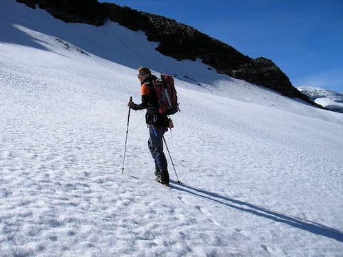 Ascent to Bortelhorn 3194m