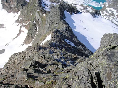 Bortelhorn 3194m - southwest ridge (T5-T6)