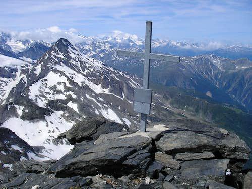 Summit of Bortelhorn 3194m